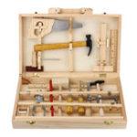 Оригинал Игрушка для хранения детского инвентаря Инструмент Set ИнструментBox DIY Обучающая скамья Ролевая игра