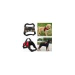 Оригинал Контрольная подвеска для домашних животных Регулируемая Собака & Кот Soft Жилет для ремня безопасности с сеткой