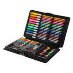Оригинал 109 шт. Для рисования и рисования цветов Ручка Мелки Чехол Набор для рисования для детей Детский рисунок
