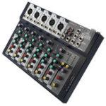 Оригинал 7-канальная профессиональная Stage Live Studio Audio Mixer USB Mixing Console DJ KTV
