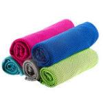 Оригинал Absorb Sweat Cool Sense Quick Dry Полотенце Спортивная подача лица
