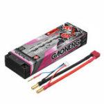 Оригинал Gaoneng 7.6V 6000mAh 100C 2S HV 4.35V Lipo Батарея 5,0 мм Banana Plug T Plug для 1:10 RC Авто Лодка