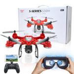 Оригинал S-SERIES S30W Двойной GPS Динамический режим работы WIFI FPV С 720P HD камера RC Дрон Квадрокоптер