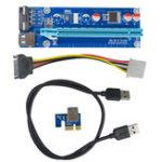 Оригинал Segotep 0.6m USB 3.0 PCI-E Express 1x до 16x удлинительный удлинитель для платы расширения для интеллектуального анализа