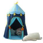 Оригинал Спорт 110 * 150 см Детский На открытом воздухе Развлечения Yur Pet Mat blue House Yurts Moon Tent Game Room