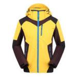 Оригинал Мужская ветрозащитная Водонепроницаемы Soft Shell Sport На открытом воздухе Куртка
