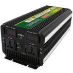 Оригинал 3000W 6000W Пик 12V / 24V до 220V Инвертор для Солнечная / Ветер с LCD Дисплей