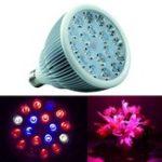 Оригинал 54W Full Spectrum LED Grow Light E27 Лампа Лампа для крытого Растение Цветочная гидропоника