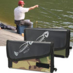 Оригинал ZANLURE Рыбалка Spoon Lure Tackle Сумка Портативный Водонепроницаемы Кошелек Spinner Storage Сумка