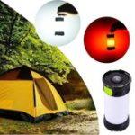 Оригинал 5W Портативный LED USB аккумуляторная Dimmable Кемпинг Light Lantern IPX4 Водонепроницаемы Hiking Emergency