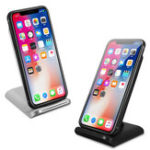 Оригинал Bakeey Qi Wireless Fast Charger Настольный держатель для iPhone X 8 8Plus Samsung S8 S7 Edge