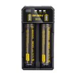 Оригинал Basen BO2 Smart Li-ion Батарея Зарядное устройство для 14500 18650 26650 21700 Батарея