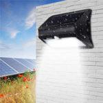 Оригинал 46 LED Солнечная powered Датчик Motion Wall Лампа Водонепроницаемы Security Flood Light для На открытом воздухе Сад