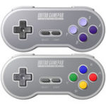 Оригинал 8Bitdo SF30 SN30 2.4G Wireless Геймпад Контроллер для SNES SFC Classic Edition Game