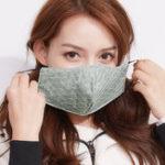 Оригинал Пылезащитные противотуманные маски для женщин