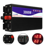 Оригинал 3000W 12V / 24V / 48V до 220V Pure Sine Wave Power Inverter Home Converter