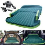Оригинал Heavy Duty Авто Travel Air Надувной матрас Sleeping Bed SUV Back Seat Mat