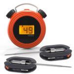 Оригинал LoskiiKT-502SmartWirelessДистанционныйAlert Bluetooth Digital Дисплей BBQ Grill Food Термометр Тестер для барбекю для куриного мяса с нержавеющими дв