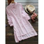 Оригинал Чистый цветный лацкан Pocket Рубашка