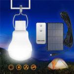 Оригинал Портативный Солнечная Powered Светодиодный Bulb На открытом воздухе Emergency Кемпинг Лампа с Дистанционное Управление