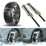 Оригинал Авто Anti-slip Manganese Alloy Tire Chain Snowy Winter Muddy Skid Emergency