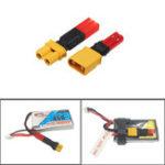 Оригинал 2S 7.4V Lipo Батарея Адаптер Коннектор XT30 для женской штепсельной вилки JST