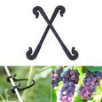 Оригинал Сад Инструмент 100шт Пластиковые виноградные клипы Растительный цветок Растение Графт Зажим Прививочный виноград