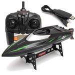 Оригинал SYMAQ32.4G4CH180Flip Водонепроницаемы High Speed Racing RC Лодка С LCD Экран Kids Gift Toys