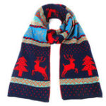 Оригинал Рождественский лосьон для женщин с двусторонним вязанием
