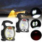 Оригинал Портативный перезаряжаемый LED солнечный Flood Light Кемпинг Лампа для На открытом воздухе Работа Туризм Рыбалка