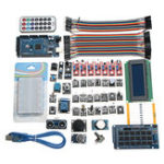 Оригинал 40Pcs Датчик Модули MEGA2560 R3 Стартер Набор IIC 20 * 4 2004 LCD Дисплей Для Arduino