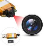 Оригинал 1280 x 960 DIY Micro Pinhole камера Видеорегистратор Video Audio Home Security с 8G-картой памяти