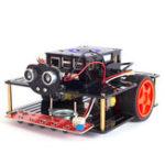 Оригинал SunFounder SF-PiSmart DIY Smart Robot Авто Управление распознаванием речи с помощью платы Raspberry Pi
