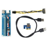 Оригинал Segotep 0.6m USB 3.0 PCI-E Express 1x to16x Extender Riser Board 5 Емкостные адаптеры для карт памяти
