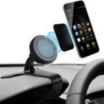 Оригинал Универсальный регулируемый магнитный Авто Держатель для панели приборов Держатель для телефона для iPhone Samsung Xiaomi