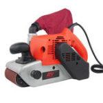 Оригинал HILDA 220V 1400W Ремень Sander 4 дюймов Abrasive Ремень Станок для шлифования металлических шлифовальных машин