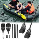 Оригинал 1параЧерныйСъемныйпарусникна байдарках на байдарках с капюшоном из ПВХ 44.5 дюймов с высокой прочности Лодка Paddle Лист