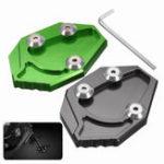 Оригинал CNC Боковая стойка Kickstand Увеличить Пластина Pad Для Kawasaki GTR1400 ZX14R 08-15