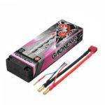 Оригинал Gaoneng 7.6V 8000mAh 100C 2S HV 4.35V Lipo Батарея 5,0 мм Banana Plug T Plug для 1:10 RC Авто Лодка