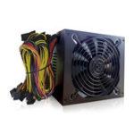 Оригинал Профессиональный 1800W Mining ATX Блок питания Miner Mining Machine SATA IDE для 6 GPU ETH BTC Ethereum