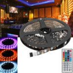 Оригинал 2x50CM + 2x100CM USB SMD5050 RGB LED Полоса пропускания подсветки телевизора для телевизора Набор + Дистанционное Управление для DC5V