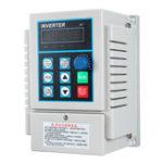 Оригинал AC 220V 0.75KW Преобразователь частоты с частотным преобразователем частоты VFD Single Phrase в Three Phra