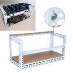 Оригинал DIY Шахтер Mining Frame Mining Rig Frame Чехол для 5 GPU 70 см * 30 см * 35 см