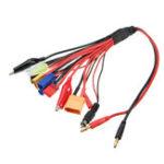 Оригинал 10 в 1 4 мм RC Lipo Батарея Зарядный кабель конвертера адаптера для нескольких зарядных устройств