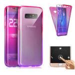 Оригинал Цветградиента360°Полныйзащитный ТПУ Чехол для Samsung GalaxyNote8
