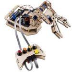 Оригинал SunFounder Rollarm DIY 4-осевая деревянная Сервопривод Ручка управления роботом Набор для Arduino Uno