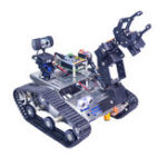Оригинал Xiao R WiFi Video Robot Arm Авто с Gimbal камера Raspberry Pi 3 Встроенный модуль Bluetooth Wifi