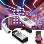 Оригинал 5 контактов Smart LED RGB RGBW Bluetooth Контроллер для 5050 3528 Габаритный фонарь DC5-24V