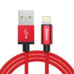 Оригинал Baseus USB to Lightning 2.1A Кабель для зарядки данных 1M с MFI, сертифицированный для iPhone X 8 7 Plus iPad