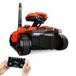 Оригинал RCTankYD-211WifiFPV0.3MP камера Приложение Дистанционное Управление Spy Toy Phone Управляемые игрушки для роботов